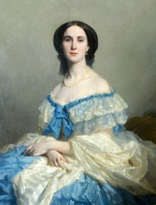 Empress Charlotte of Mexico, protrait by Isidore Pils, 1859