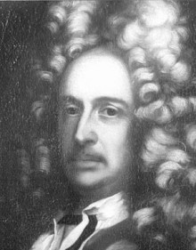 Johann Bernhard Fischer von Erlach, photograph after an oil painting