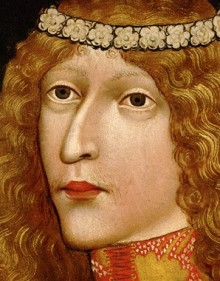 King Ladislaus 'Postumus', vellum on panel, 1457