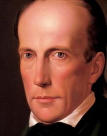 Leopold Kupelwieser: Erzherzog Johann im Rock, Öl auf Leinwand, 1828