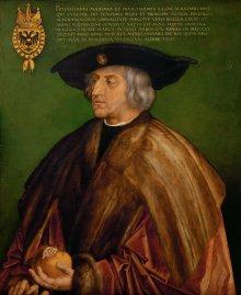 Albrecht Dürer: Emperor Maximilian I, 1519