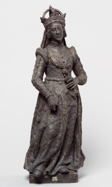 Gertrud (Anna) of Hohenberg, statue, second half of 16th century