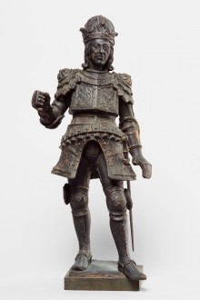King Rudolf I of Habsburg, statue, early 17th century