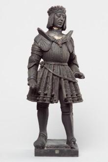 Philip 'the Fair' in armour, statue, second half of 16th century