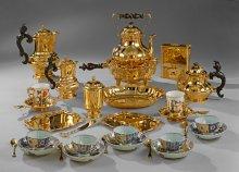 Anton Matthias Joseph Domanek: Maria Theresa's chocolate service, Vienna, c. 1750
