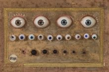Anton Schwefel: Künstliche Augen aus Glas, 1820