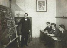 Beschäftigungskurs in einer Schule für Flüchtlinge in Graz, Fotografie, 1914/15