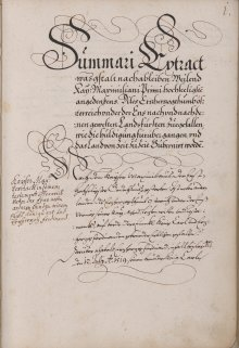 An account of the ceremony of Hereditary Homage for Emperor Matthias performed by the Lower Austrian Estates,…