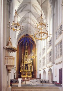 Augustinerkirche, looking towards the high altar