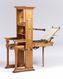 Buchdruckerpresse