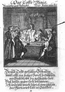 Christoph Weigel: The Coffee House, 1711