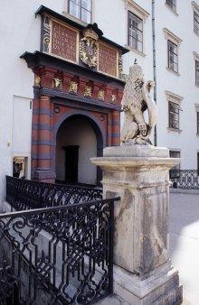 Das Schweizer Tor der Hofburg