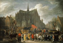 David Teniers the Younger: Brussels, 1652