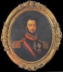 Dom Pedro I. als Kaiser von Brasilien