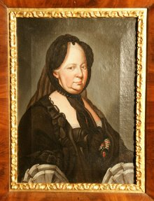 Ducreux: Portrait of Empress Maria Theresa in widowhood, 18th century
