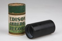 An Edison cylinder record