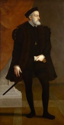 Francesco Terzio: Emperor Charles V aged fifty, c. 1550