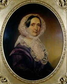 Franz Schrotzberg: Archduchess Sophie, oil painting, 1858