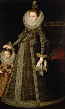Bartolomé González: Archduchess Margaret as Queen of Spain
