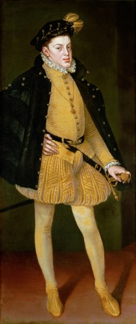 Alonso Sánchez Coello: Infante Don Carlos, painting, 1564