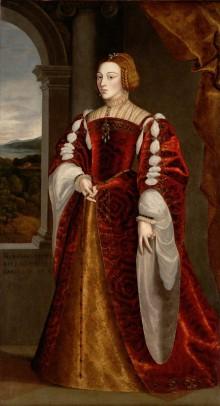 Kopie nach Jakob Seisenegger (?): Isabella von Portugal, Gemahlin von Karl V.,  3. Viertel 16. Jahrhundert