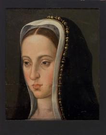 Johanna, Gemahlin Philipps des Schönen, als Witwe