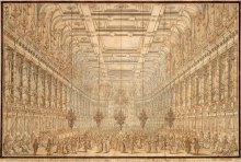 Giuseppe Galli Bibiena: Court *fête* in the Winter Riding School of the Vienna Hofburg held on 7 January 17...
