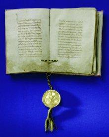 Golden Bull, document, 1356