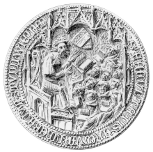 Großes Siegel der Artistenfakultät, 1388