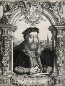 Hanns Sebald Lautensack: Ferdinand I., 1556, Kupferstich