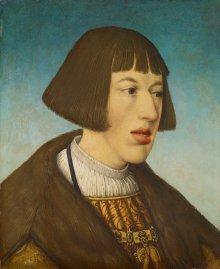 Hans Maler: Erzherzog Ferdinand, Porträtgemälde, 1521