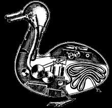 Jacques de Vaucanson: Mechanische Ente, 1738