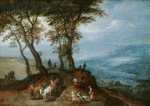 Jan Brueghel the Elder: Going to market, 1603