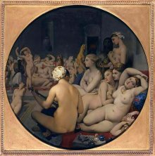 Jean Auguste Dominique Ingres: Le Bain Turc, 1862, oil on canvas
