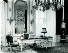 Jens Preusse: Desk of the Federal President of Austria, photograph, post-WWII