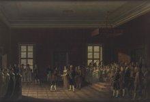 Übergabe der Erzherzogin Marie Louise an Marschall Berthier