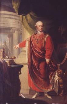 Johann Daniel Donat: Emperor Leopold II, oil painting, 1806