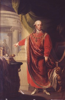 Johann Daniel Donat: Kaiser Leopold II., Ölgemälde, 1806