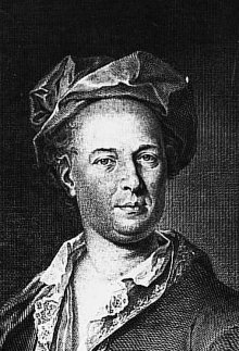 Johann Thomas von Trattner, engraving by J.E. Mansfeld after a painting by J. Hickel, 1770