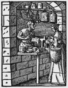 """Jost Amman: Laternenmacher (""""Ständebuch""""), 1568"""