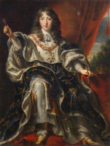 Justus van Egmont: König Ludwig XIV. von Frankreich, um 1651/54