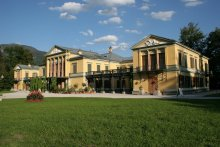 The imperial villa at Ischl - View from the garden