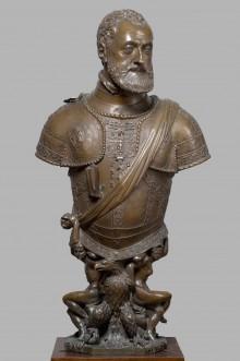 Leone Leoni Arezzo: Büste Kaiser Karls V., um 1555