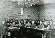 Klassenraum im Kinderheim der Kinderfreunde in Schönbrunn