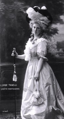 Costume portrait of Luise, Archduchess of Austria-Tuscany