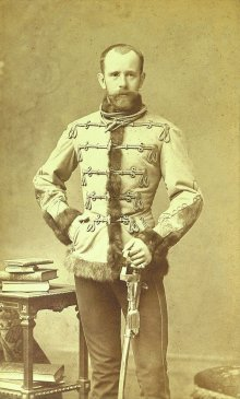Crown Prince Rudolf, photograph, c. 1880