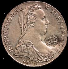 Maria-Theresien-Taler, 1780