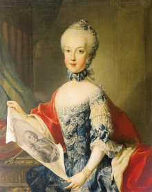 Maria Karolina, oil painting by the 'Master of the Archduchess Portraits', c. 1765