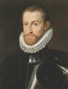 Martino Rota: Kaiser Rudolf II., um 1576/80