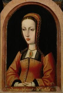 """Meister der Magdalenenlegende: Königin Juana """"Die Wahnsinnige"""", nach 1495/96"""